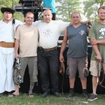 2011. június 18. - Kétpó karikáscsörgető rekordkisérletben résztvevők